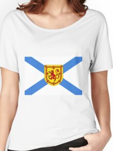 Nova Scotia Flag Women's Relaxed Fit T-Shirt