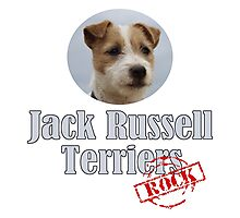 Jack Russell Terriers Rock! Photographic Print