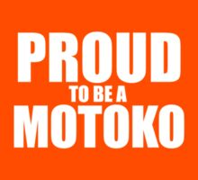 Proud to be a MOTOKO Kids Clothes