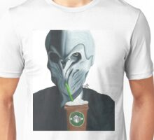 Silence in the Starbucks - Hand-drawn Unisex T-Shirt