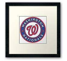 Washington Nationals  Framed Print