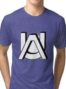 AU B&W Tri-blend T-Shirt