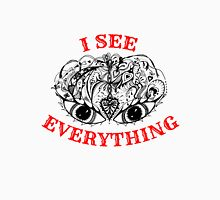 I See Everything - Black and Red  Unisex T-Shirt