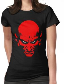 Red Devil Womens Fitted T-Shirt