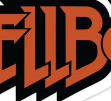 Hellboy logo Sticker