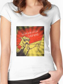 The Wombat Revolution Women's Fitted Scoop T-Shirt