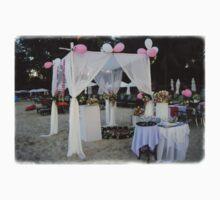 Beach Wedding Setup Kids Tee