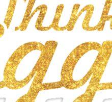 Think Bigger - Inspirational Quote Sticker