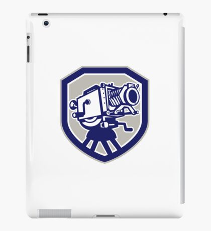 Movie Film Camera Vintage Shield iPad Case/Skin
