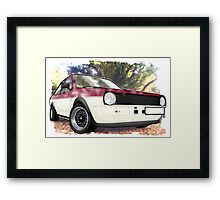 VW Polo Saloon  Framed Print