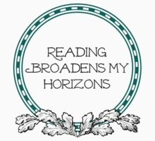 Reading Broadens My Horizons by simpleart2001