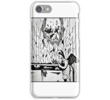 Bathtub Disaster  iPhone Case/Skin