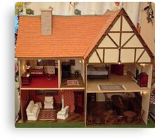 Dolls House Canvas Print