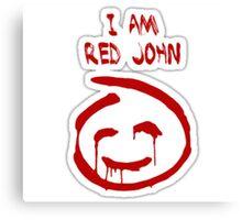 The Mentalist- Red John Canvas Print