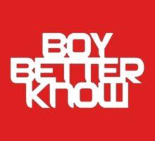 Boy Better Know T-Shirt One Piece - Short Sleeve