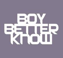 Boy Better Know T-Shirt Kids Tee