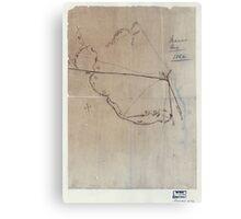 Civil War Maps 0595 Macon Geo 1864 Canvas Print
