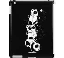 3 Funny Panda Catch Star iPad Case/Skin