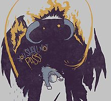 Lord of the Rings Balrog vs Gandalf by SinisterSix