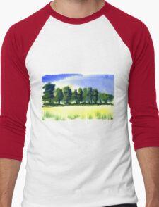 English Countryside Men's Baseball ¾ T-Shirt