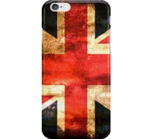 United Kingdom Flag Grunge iPhone Case/Skin