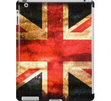 United Kingdom Flag Grunge iPad Case/Skin