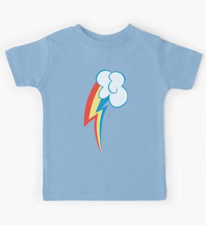 My little Pony - Rainbow Dash Cutie Mark Kids Tee