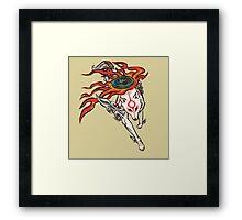 Okami - Amaterasu (ALT) Framed Print