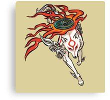 Okami - Amaterasu (ALT) Canvas Print