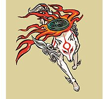 Okami - Amaterasu (ALT) Photographic Print
