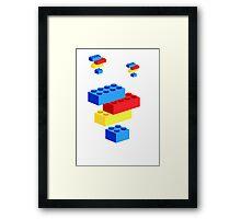 Lego bricks Framed Print
