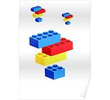 Lego bricks Poster