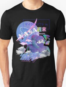 NASA Alien vaporwave aesthetics Unisex T-Shirt