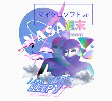 NASA Alien vaporwave aesthetics T-Shirt