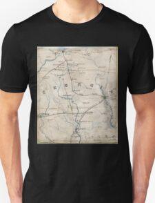 Civil War Maps 0441 Georgia Unisex T-Shirt