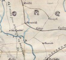 Civil War Maps 0441 Georgia Sticker