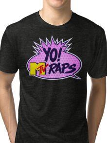Yo MTV Raps Tri-blend T-Shirt