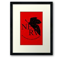 NERV Framed Print