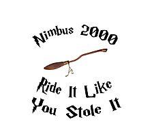 Harry Potter - Nimbus 2000 Photographic Print