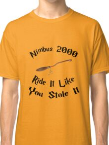 Harry Potter - Nimbus 2000 Classic T-Shirt