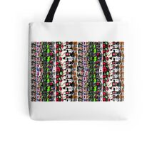 Humanalien Collage  Tote Bag