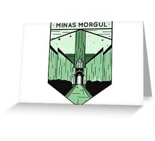 Lord of the Rings Minas Morgul Greeting Card
