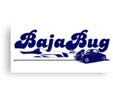 Baja Bug Canvas Print