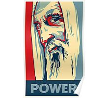 Lord of the Rings Saruman Poster