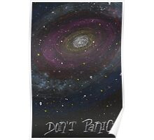 Don't Panic - The Hitchhiker's Guide to the Galaxy - Galaxy Phone case Poster