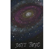 Don't Panic - The Hitchhiker's Guide to the Galaxy Photographic Print