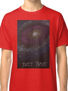 Don't Panic - The Hitchhiker's Guide to the Galaxy Classic T-Shirt