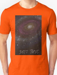 Don't Panic - The Hitchhiker's Guide to the Galaxy Unisex T-Shirt