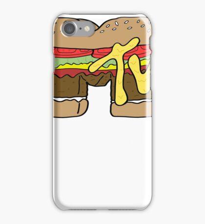 MTV Burger Logo iPhone Case/Skin