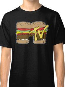 MTV Burger Logo Classic T-Shirt